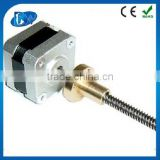 High torque nema 17 micro stepper linear actuator