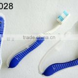 travel kit/foldable toothbrush/dental kit
