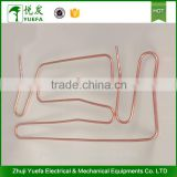 Steamer equipment copper heat transfer pipe