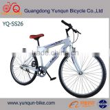 "cheap price 26"" single speed MTB/Steel frame & fork mountain bicycle shape"