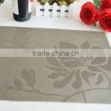 wholesale pvc placemat/cheap placemats/woven vinyl placemats