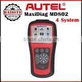 2016 New Arrive Low Price Autel MaxiDiag Elite MD802 Autel MD802 For 4 System (MD701, MD702, MD703, MD704) Autel MD 802 obd2 sca