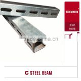 Hot sales Stut Channel Bracket for Cable Support System/ C Channel