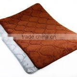 2015 China Wholesale Thin Color Changing Non Slip Custom Size Memory Foam Bath Mat