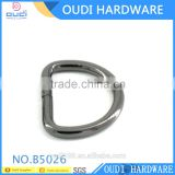 Hot Sale Cheaper Price Iron D Ring For Bag Straps Metal Buckles Combination For Dog Collar                                                                         Quality Choice