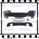 Body Kits for BMW E90 LCI 09-ON Rear Bumper (M-TECH Look)