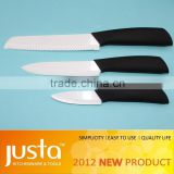 Black gift box white or black blade ABS handle ceramic