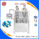 NJP-1500A China factory wholesale New Design automatic capsule filling machine with PLC program control panel