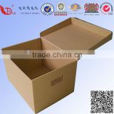 high quality corrugated paper office file storage banker box with printing
