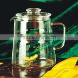 Perfect Clear Heat Resistant Borosilicate Glass Teapot & Infuser for loose tea or display tea (2500SBS/3000SBS)