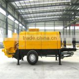 High quality strong and stable using used schwing concrete pump truck
