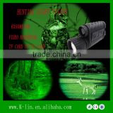 Monocular Thermal Weapon Night Vision Sight, 6x50Meter Telescopic sights Infrared Laser Sight