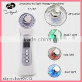 Home use skin tightening therapy Photon Ultrasonic led light Beauty Machine