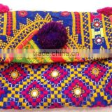 Girl's Banjara Clutch bag, Vintage Clutch, Trendy Clutch bag, Bohemian Clutch, Sling Purse, Embroidery Clutch