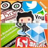Appealing glossy custom stickers printed for kids