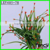 7 heads small flower artificial plastic orchids