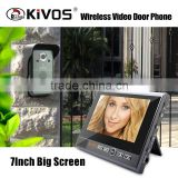7 Inch Video Door Phone/ Wireless building Intercom system