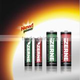 R6P AA, R03P AAA, Dry cell battery( Super heavy duty)