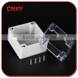 TIBOX SAME TYPE Screw Type waterproof abs push button switch clear box