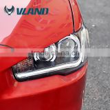With perfect quality lamps for mitsubishi lancer 2010 aftermarket headlight with driving lights for headlight lancer                                                                         Quality Choice