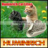 Huminrich OEM Cat Sand Clumped Bentonite Cat Litter Breeze
