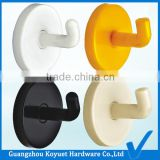 Wholesale Modern Free Sample Factory Directly Toilet Fitting Cloth Plastic Hook to hang clothes