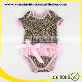 lace infants leopard short winter adult baby romper                                                                         Quality Choice