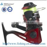 wholesale plastic spinning reel Fishing tackle with line in the reel