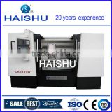 38 inch high precision cheap horizontal wheel cnc lathe machine brand CK6197W