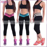 New Arrival Stretched Women and Girls and High-waist Long Leggings & Capris Pants to Gym Sports Bike Sports Tights