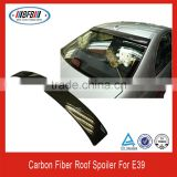 1996-2003 5 series carbon fiber car rear roof spoiler for bmw e39 auto parts accessory