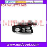 High Quality For VW JETTA MK5 FOG LIGHT GRILLES 2006-2009