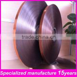 blue /silver double sided thick aluminum foil mylar tape for electric cable & wire & flexible duct