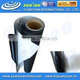 D08165M-Bubble free self-adhesive vinyl(Black adhesive)-inkjet media-waterproof-PVC film