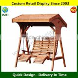 Custom Design China manufacturer Comfort Wooden Swing Seat,Garden Swing                                                                         Quality Choice