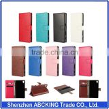Card Holder Cover Case for Sony Xperia Z5 Leather Phone Case Ultra Thin Wallet Flip Cover