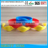 Hot sale RFID silicone wristbands for party,event,festival management use
