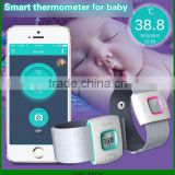 Children Intelligent Wearable Electronic Thermometer Bluetooth Smart Happy Baby Monitor Household Thermometer