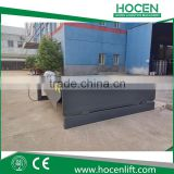 Dock Container Cargos Unloading Equipments AC Motor Lift Height Hydraulic warehouse loading ramp