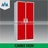 Popular Modern Changing Room Storage Wardrobe Bedroom Wall Wardrobe Design Steel Wardrobe/ Wardrobe cabinet/ Steel wardrobe