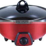 high quality electric casserole hot pot with Chinese factory price
