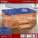 expensive outdoor bathtub, hot sell luxury garden massage bathtub, bubble jet spa hot tub