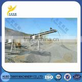 China supplier hot sale low cost long distance easy maintenance sand belt transporter system for bulk materials