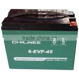 INQUIRY about EVF Series VRLA Gel Battery for Electric Vehicles, 12V 45Ah at 3hr rate