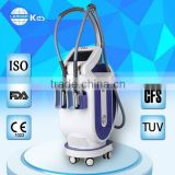 Anti freezinig membranes Cellulite reduction vertical crio fat freezing beauty machine MED-340