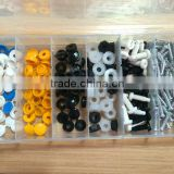 TC BV Certification 135pc Hardware Assorted Plastic Head Bolt