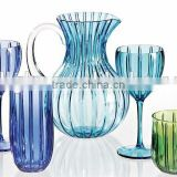 colorful Acrylic cup set