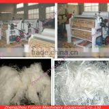 Multifunctional recycled cotton opener/waste clothes recycling machine/flax fibre tearing machine