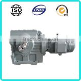 SEW Equivalent WK series helical bevel gear reducer high torque low rpm ac right angle gear motor