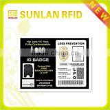 RFID 125khz image and signature pvc staff employee photo id card with hologram(professional manufacturer)